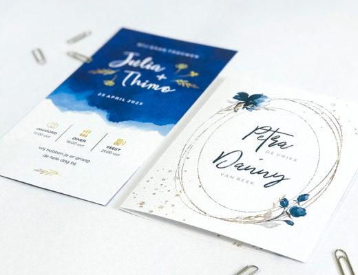 nieuwe trouwkaarten