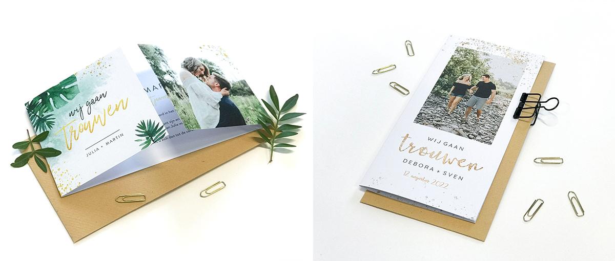 nieuwe trouwkaarten koningkaart