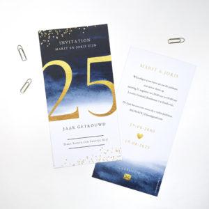 Uitnodiging 25 jaar