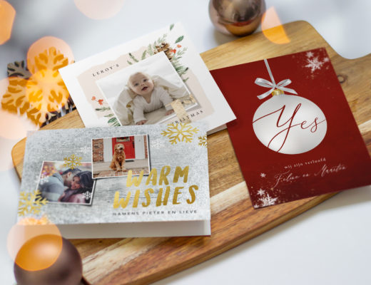 Kerstkaarten koningkaart